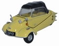 Messerschmitt KR200 Cabrio Geel Mimosa Yellow 1/18