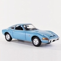 Opel GT 1900 Blauw metallic Blue  1970 1/24
