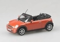 Mini Cooper Cabrio Oranje  Bruin  -  Orange Brown 1/24