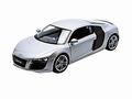 Audi R8  V10  Zilver Silver 1/24