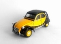 Citroen 2 cv 6 Charleston Rood Zwart  -  Red Black 1/24