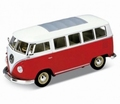 VW Volkswagen T1 Bus 1963 Rood Red 1/24