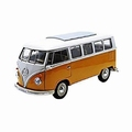 VW Volkswagen T1 Bus 1963 Geel/wit  Yellow/white 1/24