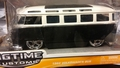 VW Volkswagen Bus 1962 zwart/wit  black/white Tuning 1/24