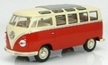 VW Volkswagen T1 Rood/Beige   Red /Cream 1/24