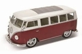 VW Volkswagen T1 BUS 1963 Hot rider rood/wit  red/white 1/24