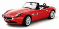 BMW Z8 Roadster Rood Red Cabrio 1/24