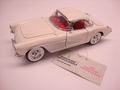 Chevrolet Corvette 1956 Wit White cabrio conertible+ hardtop 1/24