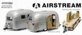 Airstream 16' Bambi Caravan Zilver Silver Camper 1/24