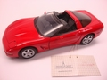 Chevrolet Corvette 1997 Rood Red  1/24