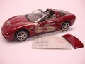Chevrolet Corvette 2003 Coupe Rood Red 50 years Corvette 1/24