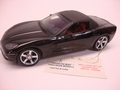 Chevrolet Corvette 2006 zwart black cabrio + soft top 1/24