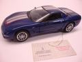 Chevrolet Corvette 2004 Blauw Blue Commemorative edition 1/24