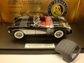 Chevrolet Corvette 1957 Zwart Black Cabrio + Hard top 1/24