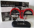 Corvette Dachboard replica 1/6 Rood Red