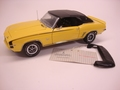 Chevrolet Camaro SS396 Cabrio 1969  Geel Yellow 1/24