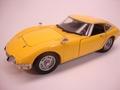 Toyota 2000 GT Geel Yellow 1/24