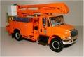 International 4400 High performance truck orange 1/35