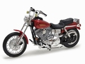Harley Davidson 1997 FXDL Dyna Low Rider Rood Red 1/18