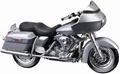 Harley Davidson 2002 Road Glide Zilver Silver 1/18