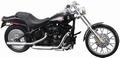 Harley Davidson 2002 FXSTB Night Train Zwart Black 1/18