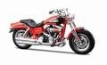 Harley Davidson 2009 FXDFSE CVO Fat Bob Oranje Orange 1/18