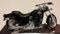 Harley Davidson FXSTB Night Train Donker Groen   Dark Green 1/18