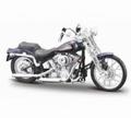 Harley Davidson 2011 FXSTS Springer Softail D Blauw D Blue 1/18