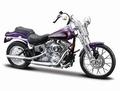 Harley Davidson 2001 FXSTS Springer Softail Purper Purple 1/18