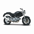 Ducati Monster Dark Zwart Black 1/18