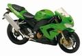 Kawasaki ZX-10R Ninja  Groen  Green 1/18
