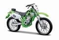 Kawasaki KLX250SR Groen  Green # 123 1/18