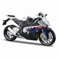 BMW S1000RR Wit White 1/18