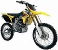 Suzuki RM-Z450 Geel Yellow 1/18