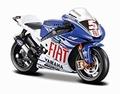 Yamaha Factory racing team 2007 Colin Edwards # 5 Fiat 1/18