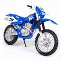 Yamaha TT-R250 Blauw Blue # 119 1/18