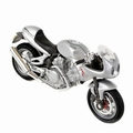 Voxan Café racer 1000 V2 Zilver Silver 1/18