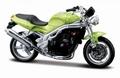 Tiumph Speed Triple Groen Green 1/18