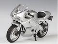 Triumph Daytona Zilver Silver 1/18