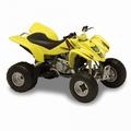 Suzuki LTZ 400 Geel Yellow Quad 1/18