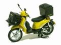 Cyclomoteur Piaggio Liberty 125 cc 2005 Geel Yellow La Poste 1/18