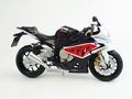 BMW S1000 RR zwart rood wit   black red white 1/12