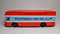 Mercedes Renntransporter  Porsche Gulf art 12203 BUS 1/43
