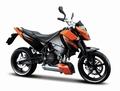 KTM 690 Duke Oranje Zwart  Orange Black  1/12