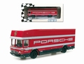 Mercedes Porsche renntransporter  art 07150 BUS 1/87