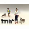 Figuur Vrouw + hond - Woman + dog Figure 1/18
