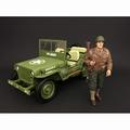 Figuur WWII USA Soldier I Figure 1/18