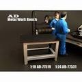 Werk bank tafel - Metal work bench 1/18