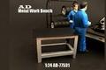 Werk bank tafel - Metal work bench 1/24