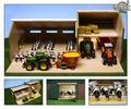 Stalling Boerderij zonder toebehoren Farm without accessoire 1/32